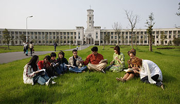 students studying in China